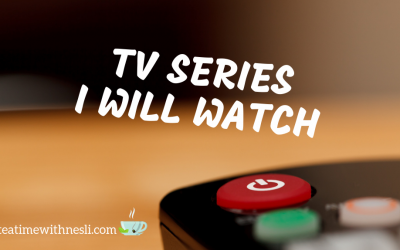 TV Series I Will Watch – List