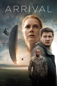 "Arrival movie review & spoilers, Poster for the movie ""Arrival"""